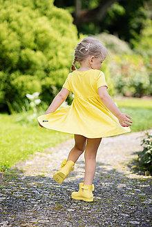 Detské oblečenie - ŠATY SPINNING - 10796498_