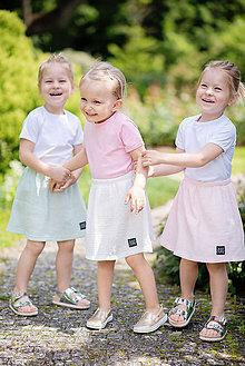 Detské oblečenie - SUKŇA MUSLIN - 10796506_