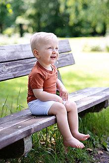 Detské oblečenie - TRIČKO SIMPLE SUMMER (98 - Fuchsia) - 10796517_