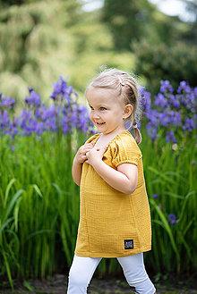Detské oblečenie - TUNIKA MUSLIN - 10796530_