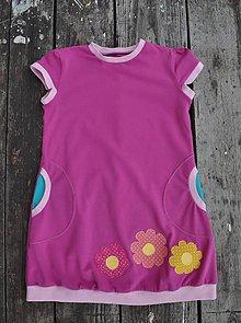 Detské oblečenie - Detské úpletové šaty - 10794768_