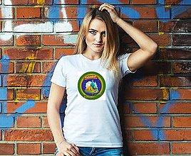 Tričká - Dámske turistické tričko (Fialová) - 10796835_