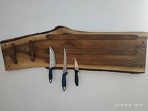 Pomôcky - Magentický držiak na nože - 10796972_