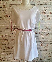 Šaty - Biele šaty - 10795744_