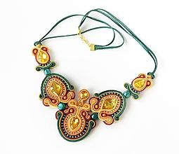 Náhrdelníky - Tansy - šujtášový náhrdelník - 10796474_