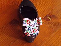 Odznaky/Brošne - Folklórne klipy na topánky - viac farieb - 10795070_