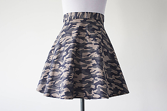 Sukne - Camo Original Skater Skirt - 10799400_