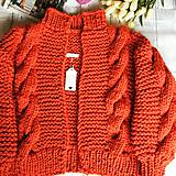 Romantic cardigan-coral