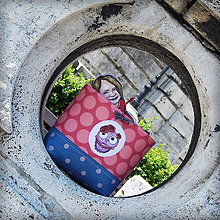 Detské tašky - Košík na bicykel BikeBag - OčiPuči Sovička Roozalka - 10799012_