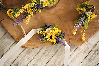 Náramky - Kvetinový náramok - 10797142_
