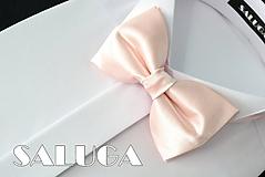 Doplnky - Pánsky marhuľový motýlik - 10798472_