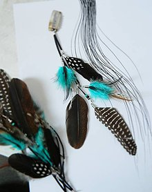 Ozdoby do vlasov - hair clip, ozdoba do vlasov - 10797420_