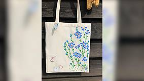 Iné tašky - ♥ Plátená, ručne maľovaná taška ♥ - 10798264_
