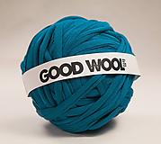 - Tričkovlna GOOD WOOL... Petrolejová (bambus) - 10798159_