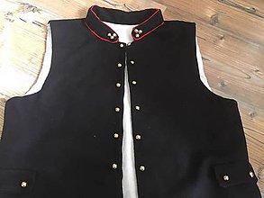 Oblečenie - Panský lajblík Stredný Liptov - 10797302_