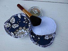 Úžitkový textil - odličovacie tampóny -folk - 10798645_