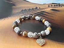 Náramky - Dámsky náramok Sahara D103 - 10797529_