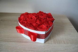 Dekorácie - box ruží - 10799324_
