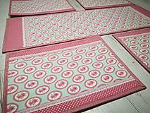 Úžitkový textil - Prestieranie pre štyroch - 10798490_