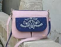 Kabelky - Vilma ružová AM1 - 10798349_