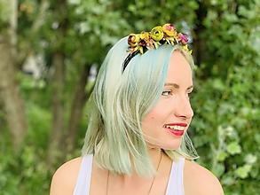 Ozdoby do vlasov - ruže šípové - 10797523_