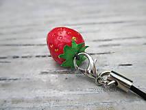 Kľúčenky - Prívesok Jahôdka - 10799861_