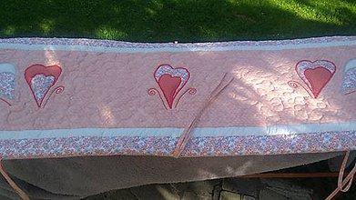Úžitkový textil - Zástena na posteľ - 10799732_