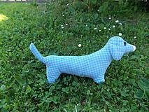 Hračky - Šitý psík jazvečík - 10801153_