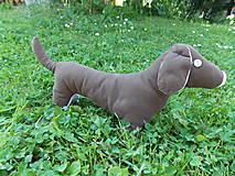 Hračky - Šitý psík jazvečík - 10801163_