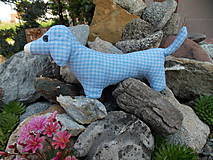 Hračky - Šitý psík jazvečík - 10801164_