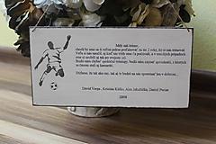 Dekorácie - tabuľka ako poďakovanie ... - 10800582_