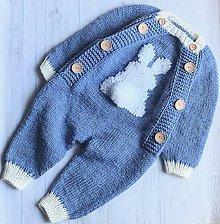 Detské oblečenie - Overal + čiapka - 10800120_