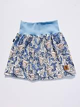 Detské oblečenie - Na slnku zmení farbu - Kúzelná sukňa vzor Koala - 10801196_