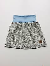 Detské oblečenie - Na slnku zmení farbu - Kúzelná sukňa vzor Koala - 10801197_