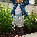 Detské oblečenie - Na slnku zmení farbu - Kúzelná sukňa vzor Koala - 10801198_
