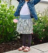 Detské oblečenie - Na slnku zmení farbu - Kúzelná sukňa vzor Koala - 10801199_