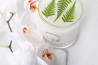 Svietidlá a sviečky - Sviečka z čistého sójového vosku - 10801181_