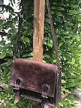 Veľké tašky - Pánska kožená taška - 10799823_