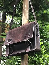 Veľké tašky - Pánska kožená taška - 10799824_