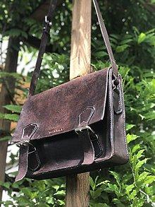 Tašky - Pánska kožená taška - 10799824_