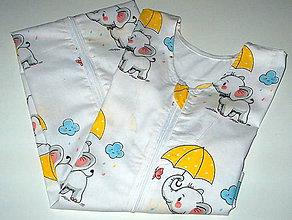 Textil - letný vak na spanie - 10800832_