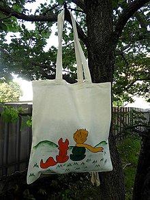 Nákupné tašky - Dobre vidíme iba srdcom... Malý princ - 10800755_