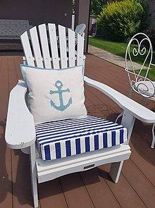 Úžitkový textil - Sedaky a vankúše v námornickom štýle - 10800257_
