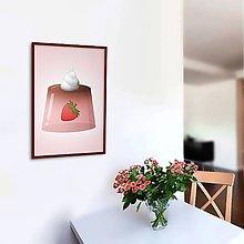 Grafika - Želatína - grafika (jahodový) - 10799743_