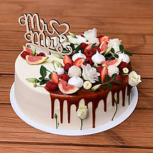 Dekorácie - Zápich na tortu MR♥MRS - 10801771_