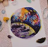 Grafika - Planéta mesačného chlapčeka - 10802264_