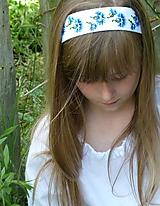 Ozdoby do vlasov - Čelenka Nevädza - 10801510_
