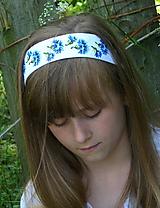 Ozdoby do vlasov - Čelenka Nevädza - 10801525_