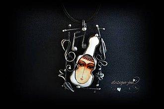Náhrdelníky - Láska k hudbě... - 10801531_