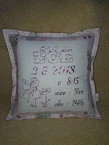 Úžitkový textil - K narodeniu - 10801902_
